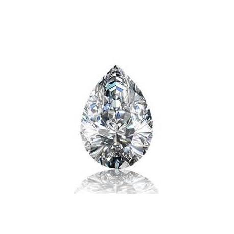 Diamant poire certifié