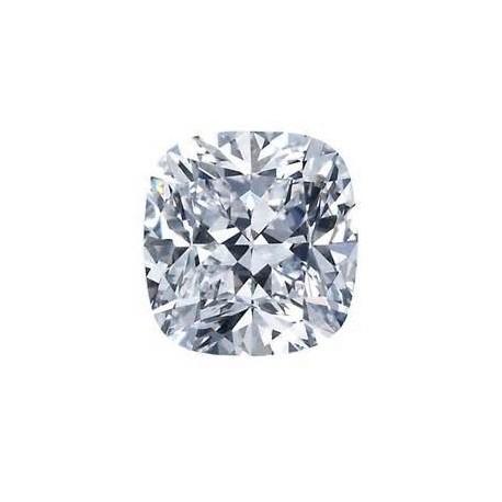 Diamant coussin certifié