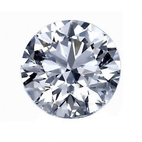 Diamant rond certifié
