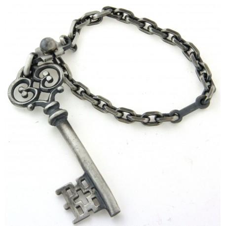 Porte clés argent