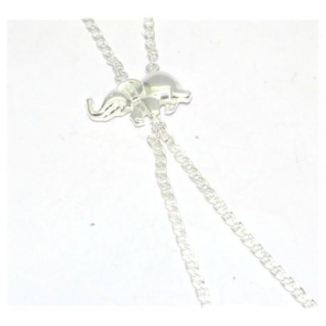 Bracelet de doigt argent motif elephant