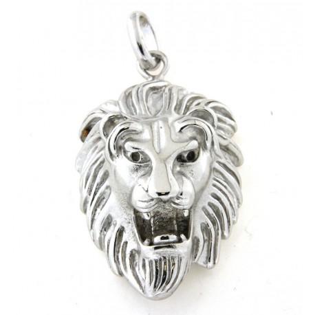 Pendentif lion argent