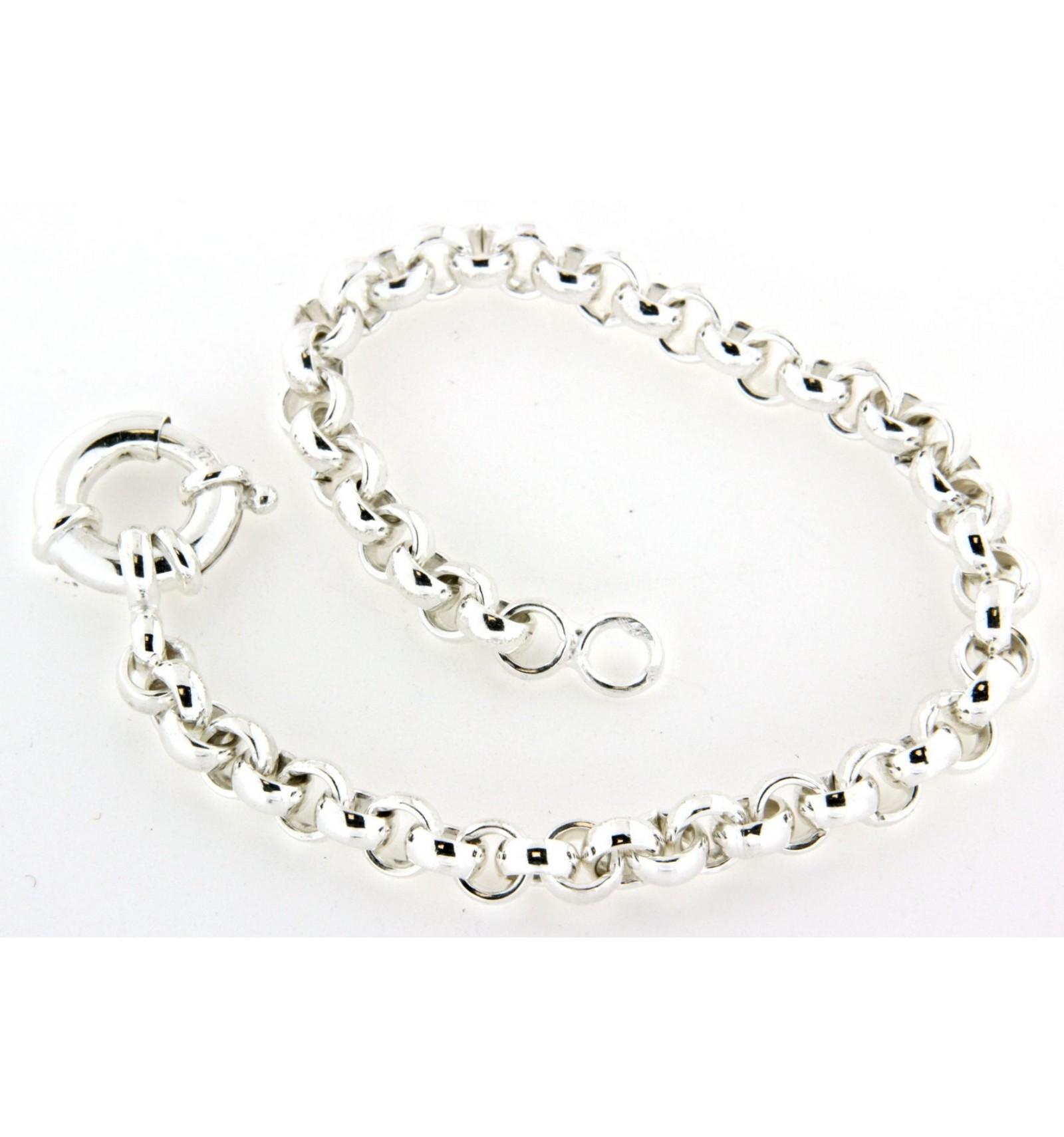 grossiste 6c600 d300f Bracelet argent maille jaseron