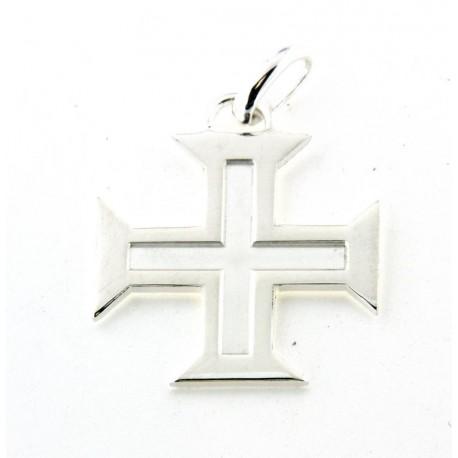 Croix portugaise argent