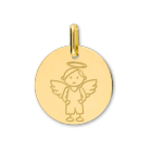 Médaille de baptême Or